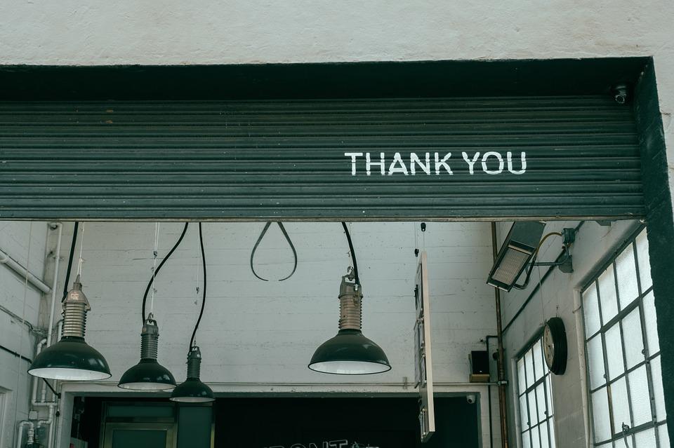 voglio dire grazie